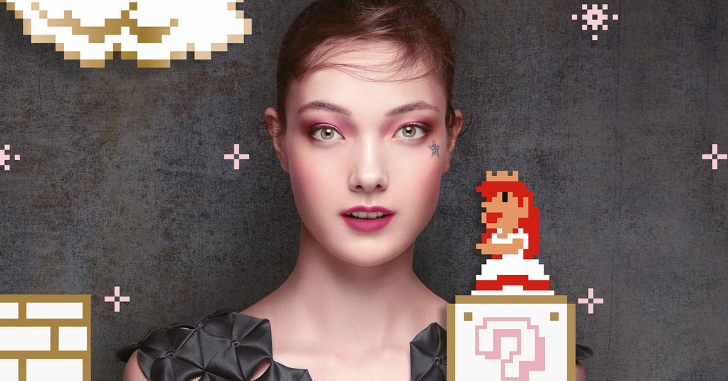 Crush of the Day: De Shu Uemura x Super Mario Bros. collectie