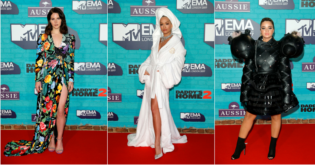 De meest opvallende looks van de MTV EMA's 2017