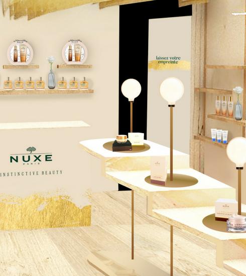 Nuxe opent allereerste pop-upstore in Parijs