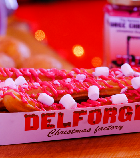Proef de Christmas Cinnamon Frost van Delforge op de Gentse Winterfeesten