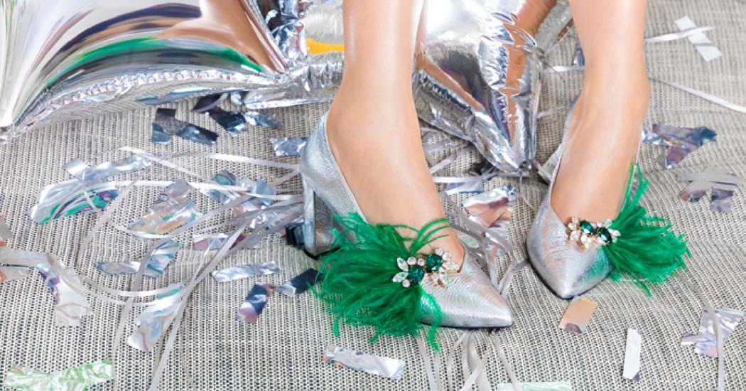 Breng je oude schoen in feestmodus met de clips van Sarenza x Shourouk