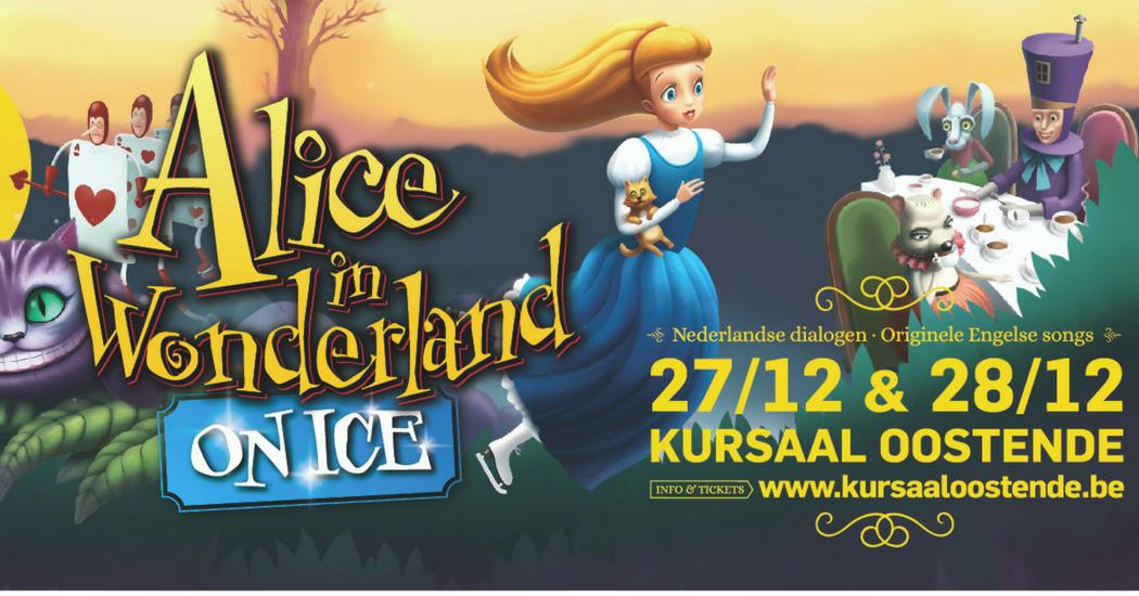 Geniet met het hele gezin van Alice in Wonderland On Ice