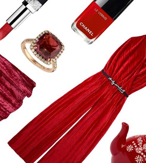 Deze kerst kiezen we resoluut voor rood (ja, echt overal!)