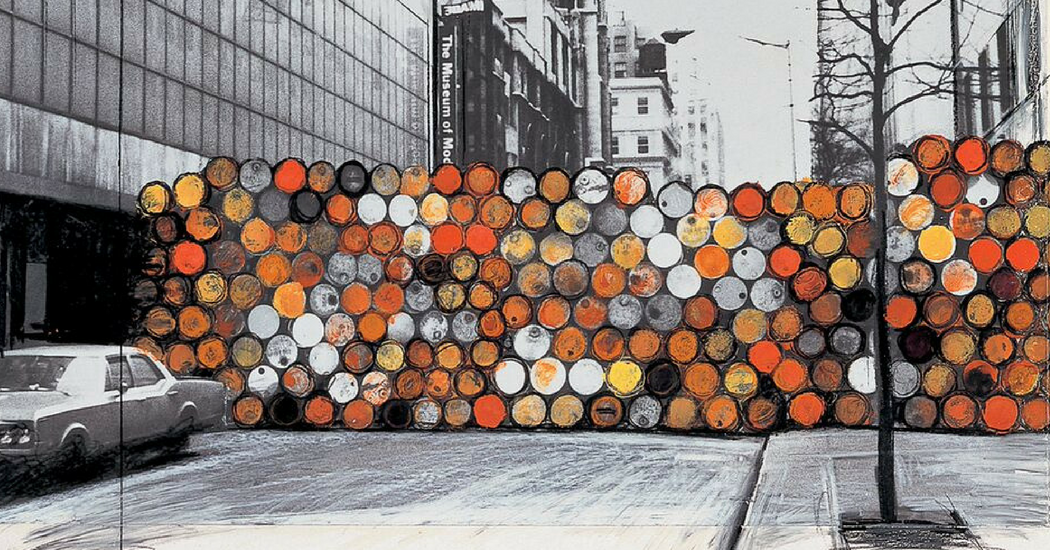 Gratis naar de Christo expo op 25 december en 1 januari
