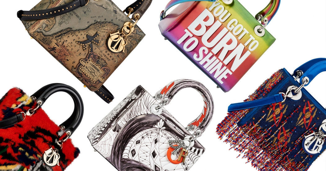 10 kunstenaars ontwerpen tassen voor het Dior Lady Art project