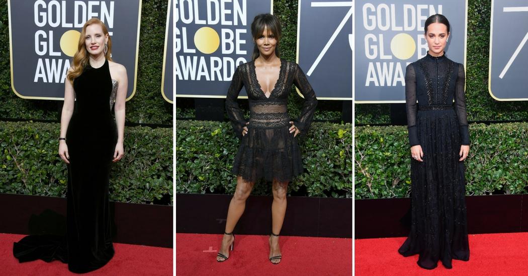 Zien: de mooiste outfits van de Golden Globes 2018