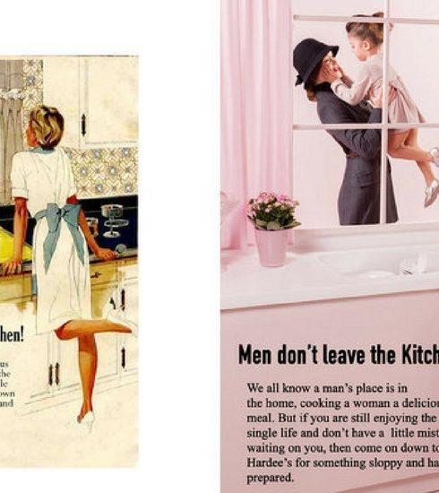 Kunstenaar herwerkt seksistische reclamecampagnes