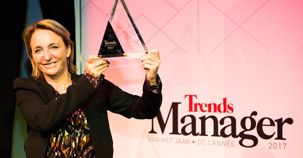 Driewerf hoera voor Michèle Sioen, Trends Manager van het Jaar 2017