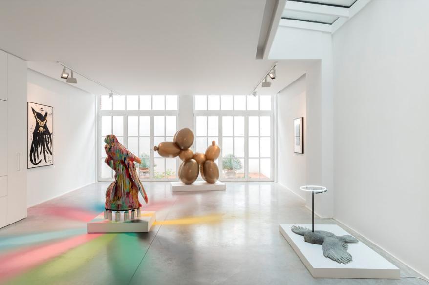 contemporary art walk