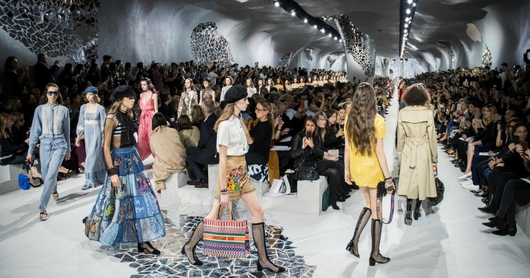 ZIEN: de livestream van de Christian Dior FW18/19 show