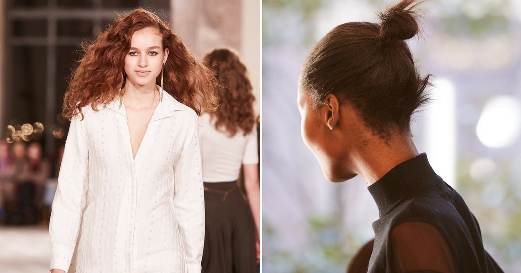 Paris Fashion Week: de nieuwe trend onder de kapsels? Naturel!