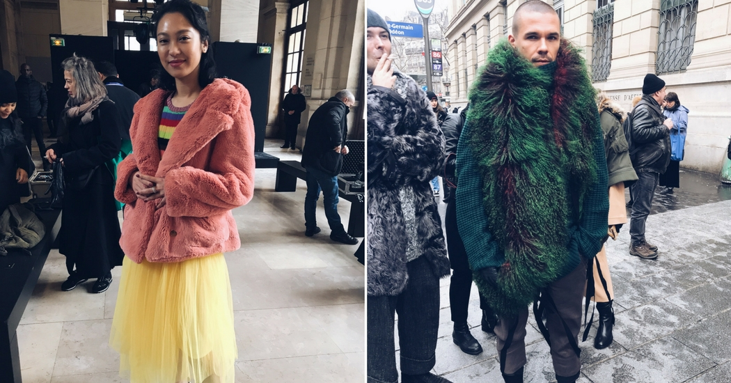 Paris Fashion Week: dit droegen de fashionista's naar de show van Ann Demeulemeester