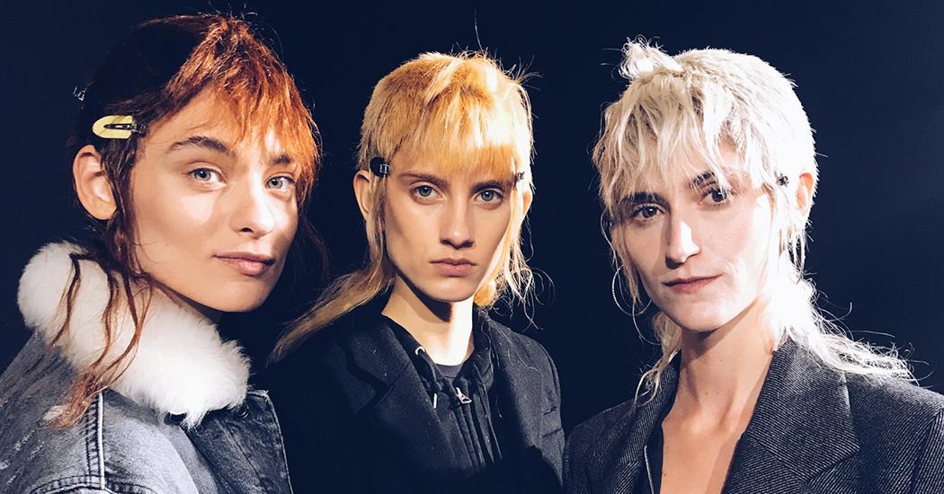 Paris Fashion Week: het nektapijt op de catwalk bij Haider Ackermann