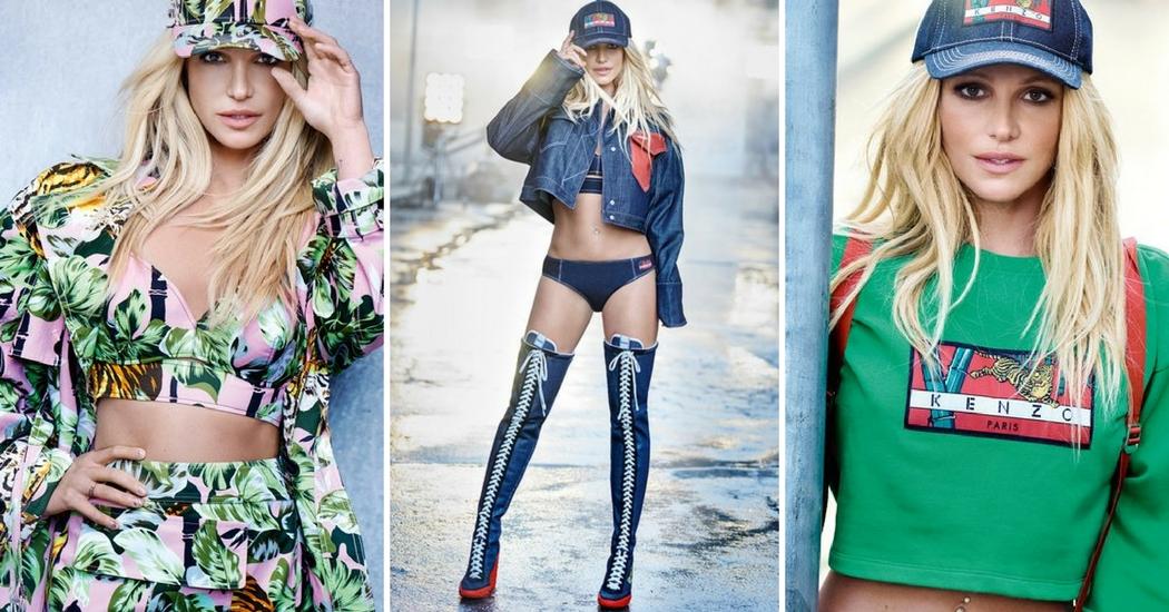 Britney Spears is het nieuwe gezicht van Kenzo