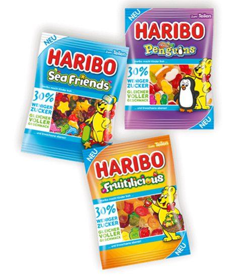 Haribo lanceert snoep met 30% minder suiker