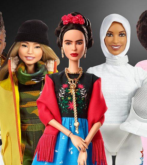 Mattel modelleert nieuwe Barbie collectie op vrouwelijke rolmodellen