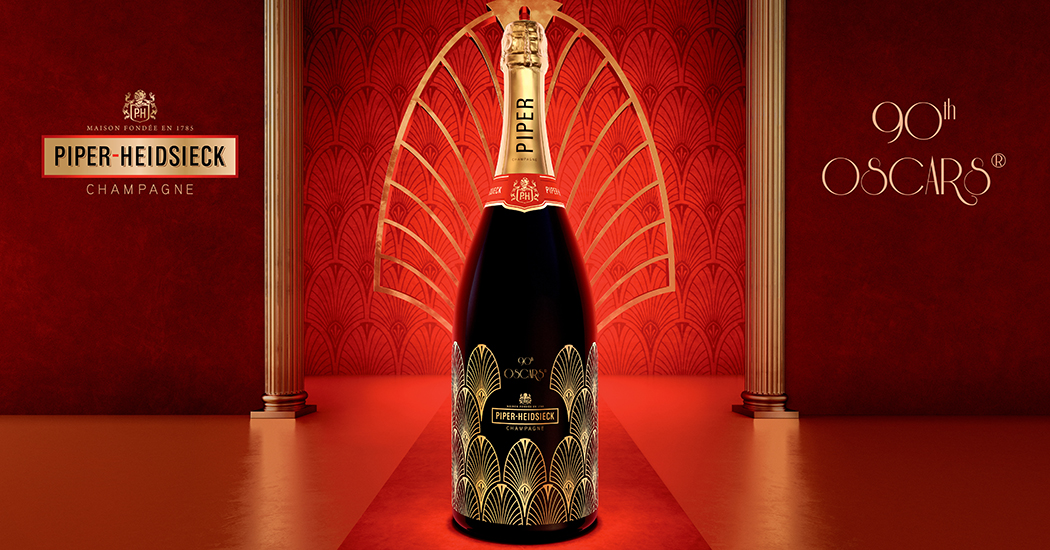 Crush of the Day: De art deco Oscars magnum van Piper-Heidsieck