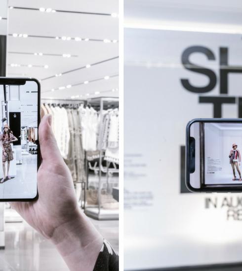 Zara laat je tijdelijk winkelen in augmented reality
