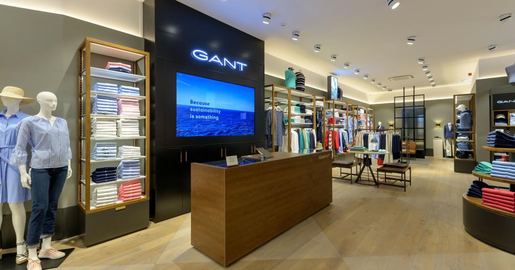 Gant opent eerste winkel in Gent