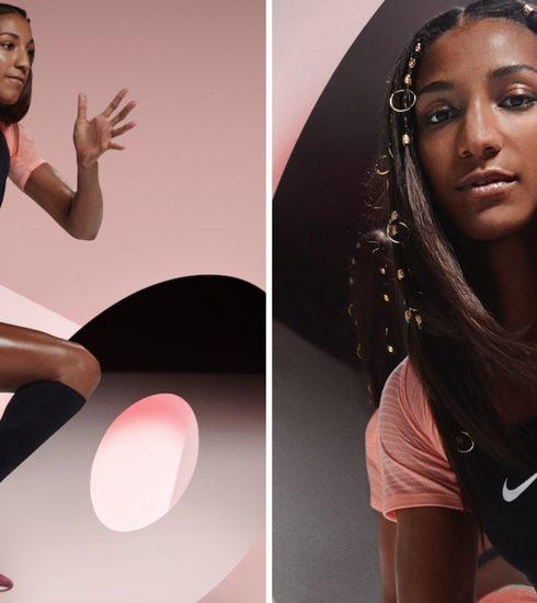 Nafi Thiam is het gezicht van de Nike Epic React sneaker