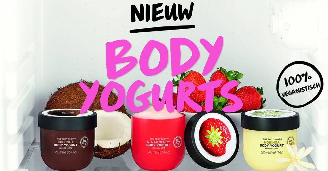 Crush of the Day: De 100% veganistische Body Yogurts van The Body Shop