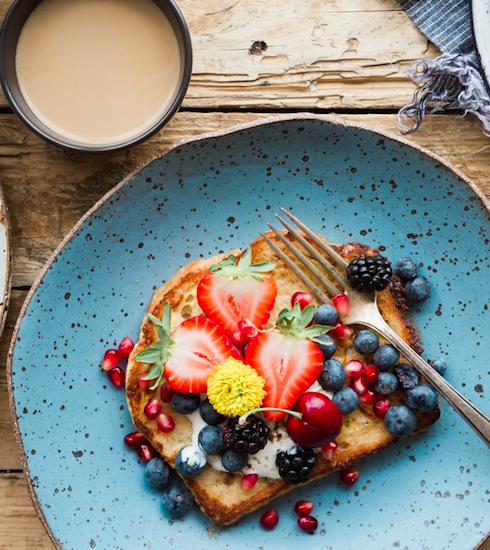 RECEPT: French toast met lentefruit