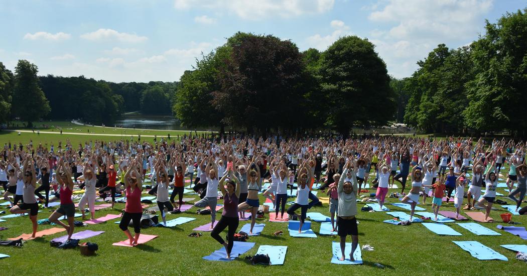 Weekendtip: op 24 juni is het Brussels Yoga Day