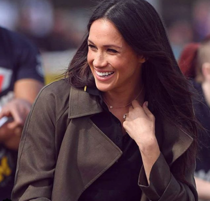 Meghan markle draagt belgische juwelen voor haar eerste for Marie claire belgie