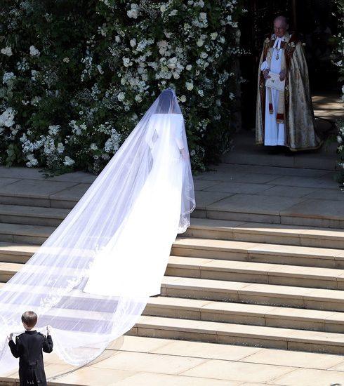 In beeld: zo zag het huwelijk van Meghan Markle en Prins Harry eruit