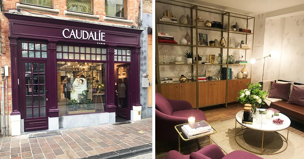 Nieuwe beauty hotspot in Brugge: de Caudalie boetiek met spa