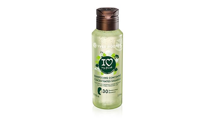 geconcentreerde shampoo