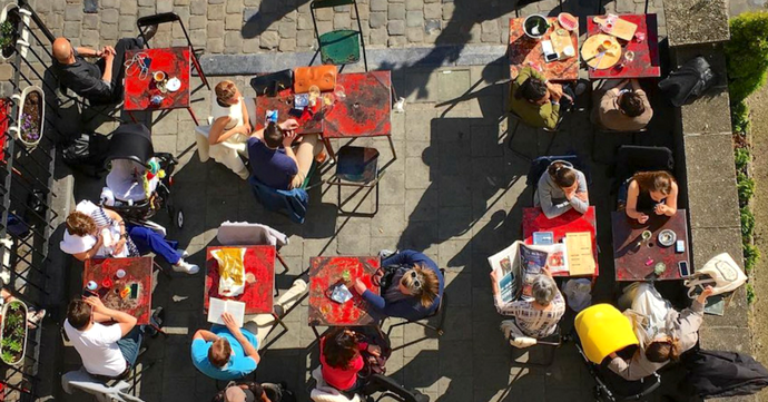 Dit zijn de vijf zonnigste terrasjes van Brussel