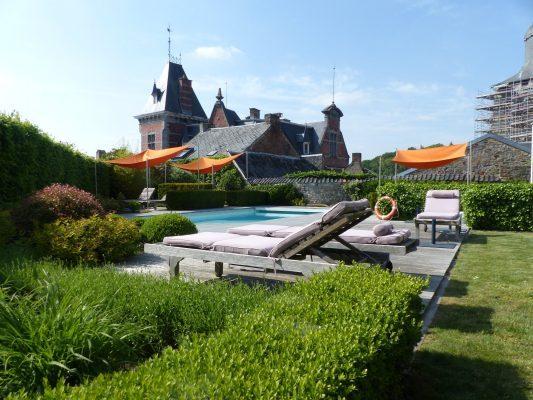De mooiste hotels met buitenzwembad in België 150*150