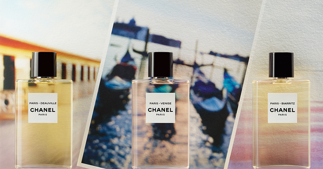 Crush of the day: de verfrissende colognes Les Eaux de Chanel