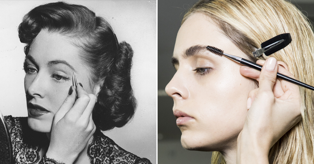 In beeld: een blik op de wenkbrauwen van toen en nu