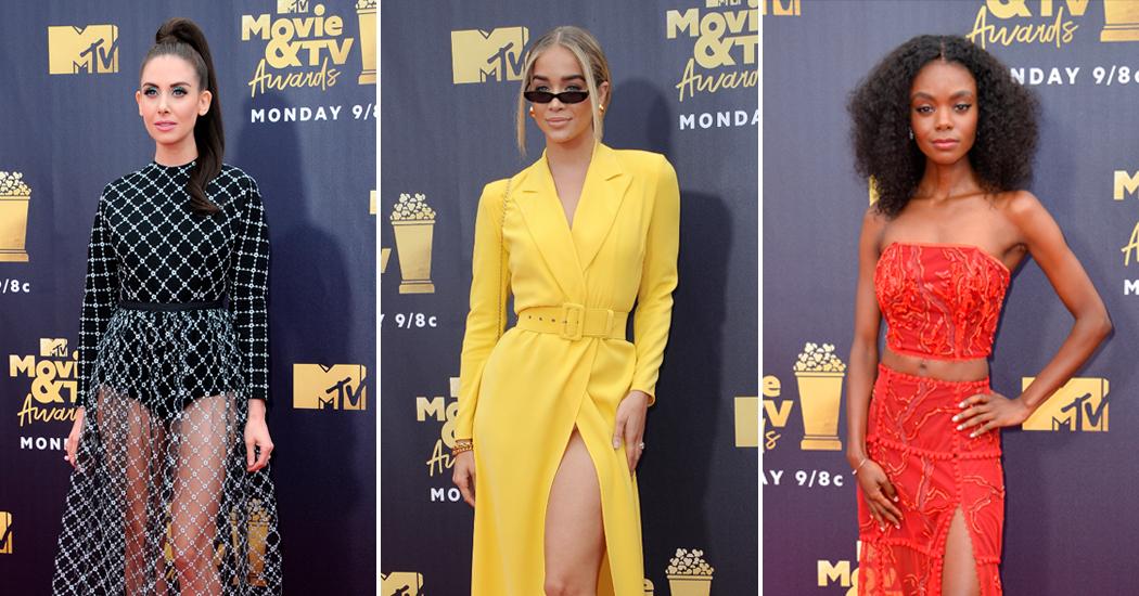 Rode loper: Belgische driekleur troef op MTV Movie Awards