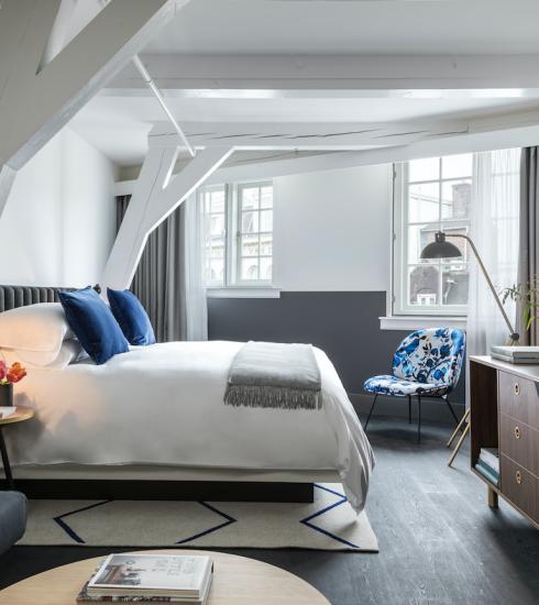 Ga met Eurostar naar Amsterdam en win een luxe-overnachting voor twee in het Kimpton De Witt hotel