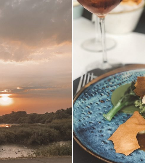 Hier kan je dineren met een indrukwekkende zonsondergang