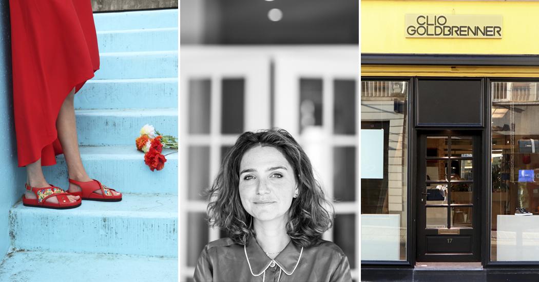 Interview: Clio Goldbrenner over haar sandalencollectie en de opening van haar winkel in Gent