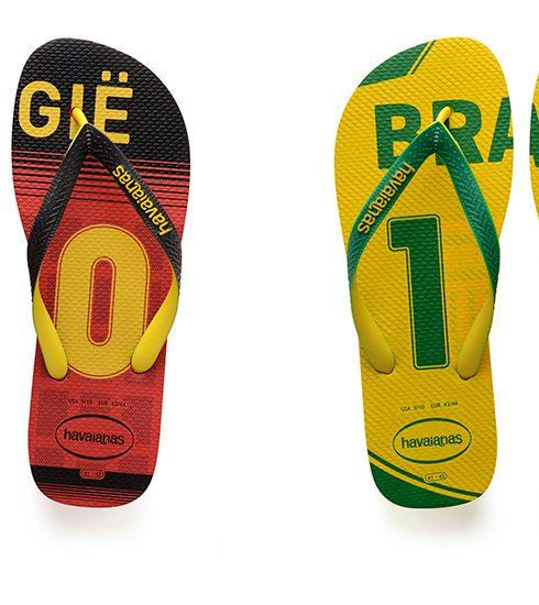 België-Brazilië: moge de beste flipflop winnen!