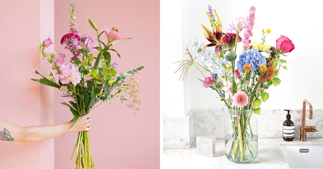 Cadeautip: Bloomon vanaf nu ook per boeket leverbaar