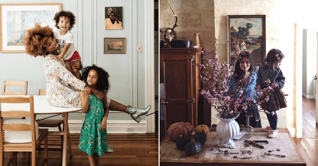 Dit zijn de 18 coolste mama's op Instagram