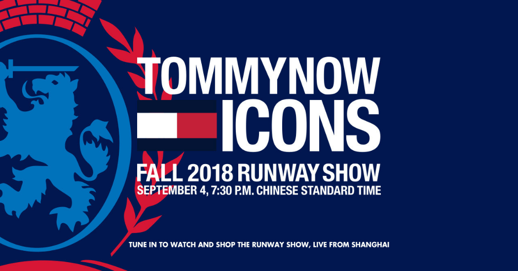 TOMMYNOW ICON: bekijk hier LIVE het defilé van Tommy Hilfiger FW18
