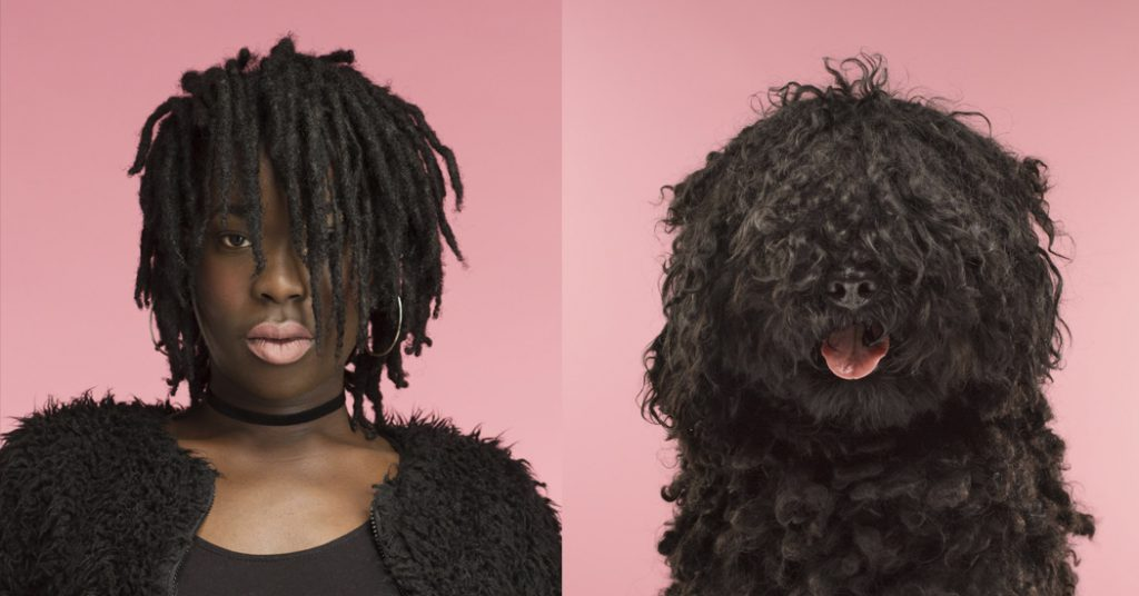 Brits fotograaf verzamelt meest frappante hond-mens lookalikes - 5