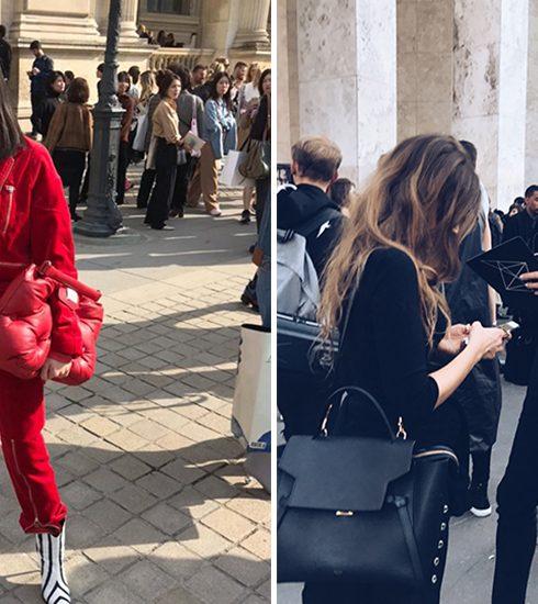 Marie Claire spot de streetstyles bij Paris Fashion Week