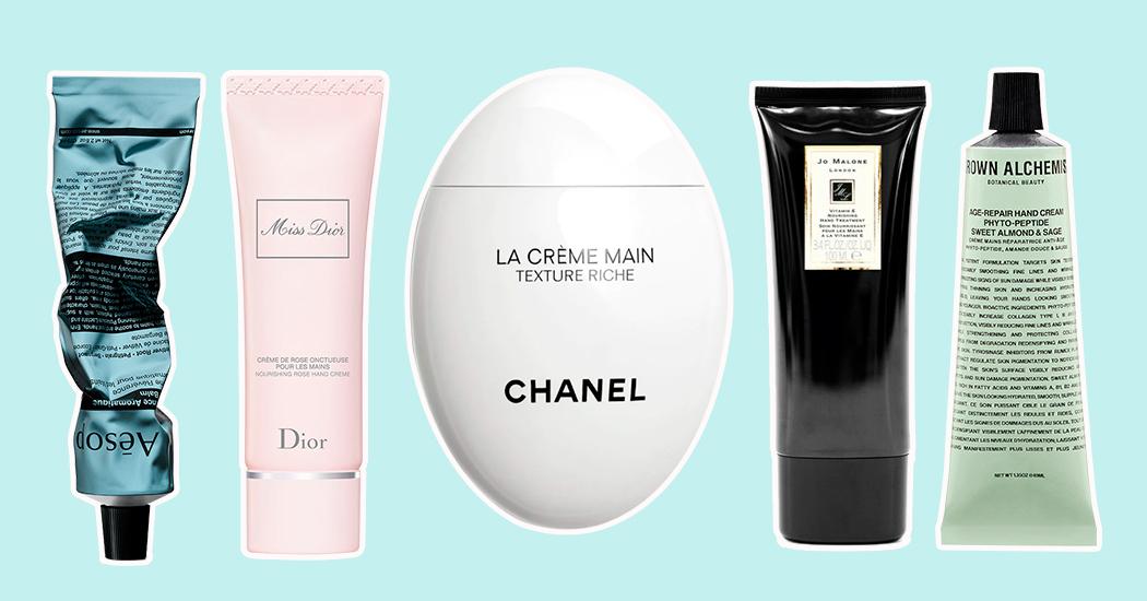 7 handcrèmes met prachtige packaging