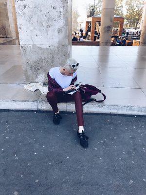 Marie Claire spot de streetstyles bij Paris Fashion Week 150*150
