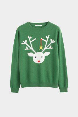 Anti Kersttrui.10 Designer Versies Van De Ugly Christmas Sweater Marie Claire