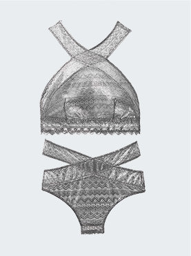 kerst lingerie