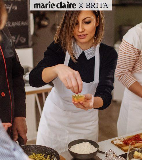 Schrijf je in voor de Marie Claire x BRITA Sustainable Cooking Workshop op 27 november